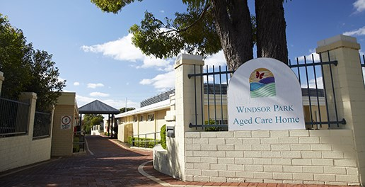 Windsor Park. Aged Care Home