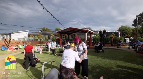 VIDEO: Leighton Aged Care Home Fringe Festival