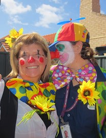 Clowning around for a jolly good cause