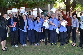 Carers graduate WOW program