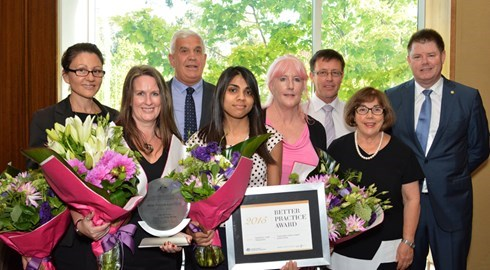 Hall & Prior recognise exceptional staff at 2015 Directors Awards