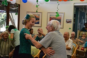 Concorde Aged Care Home St Patrick's Day holiday event