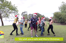 VIDEO: Hall & Prior Christmas Video 2020
